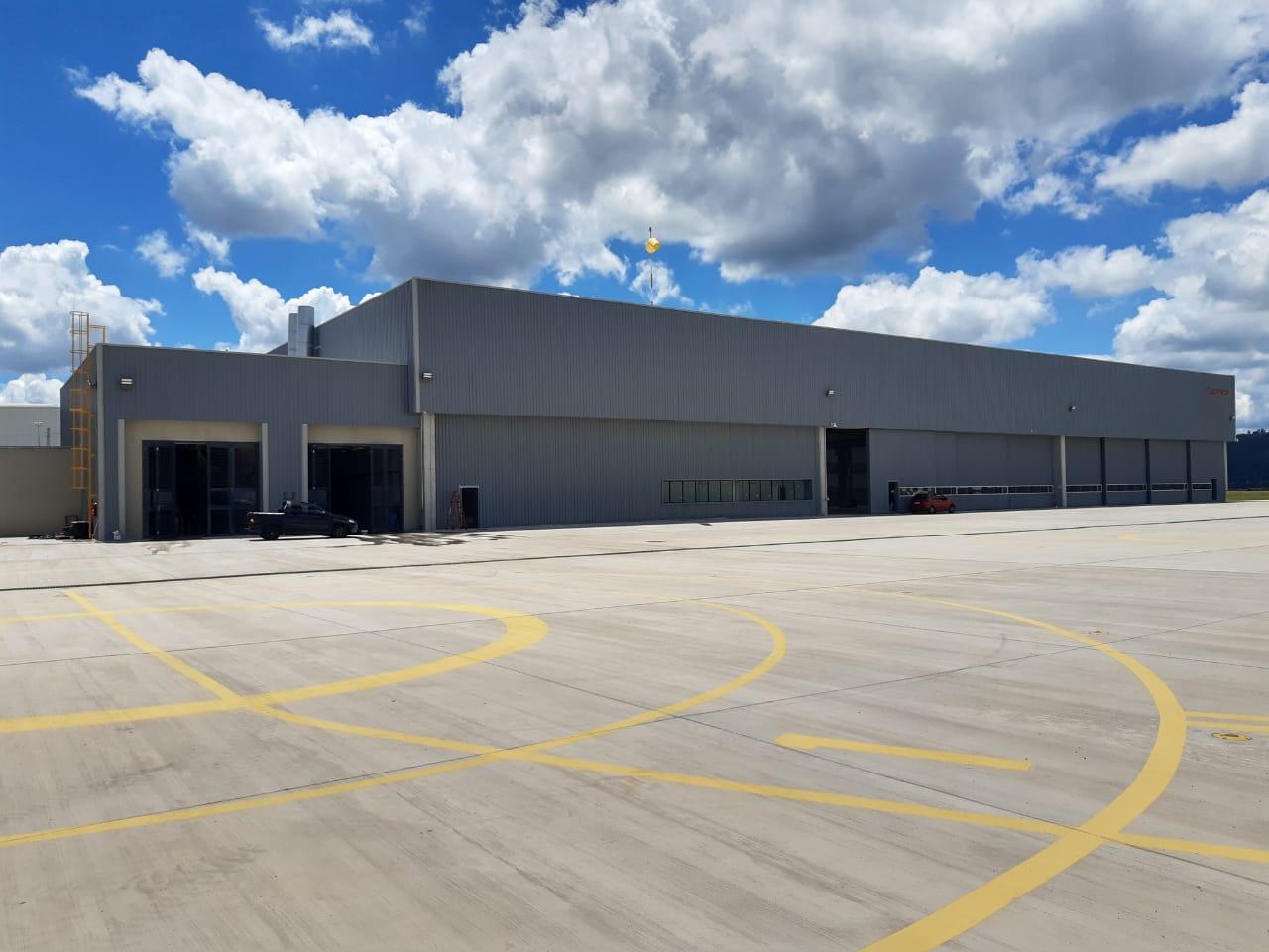 leonardo company projeto de hangar aviação 2