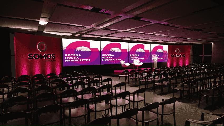 arquitetura para eventos, plenária empresa somos.